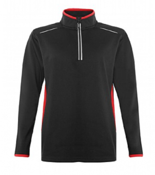 Girls Quarter Zip Training Top-Senior Size