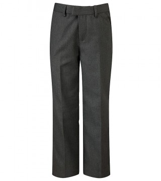 Pulborough Pull On Boys Grey Trousers
