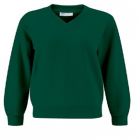 Huncote Primary V neck Sweater with logo