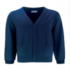 Chetwynd Navy Cardigan with logo