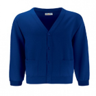 Wolvey Royal Cardigan with logo