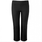 Kirby Girls Black Trousers with deep waistband