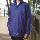 Nursery Hill Navy Reversible jacket with logo