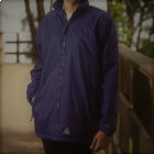 Chetwynd Navy Reversible Jacket with logo