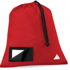 Red Hill Field Primary Shoe Sack with logo