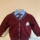 St Anne's Cardigan with logo
